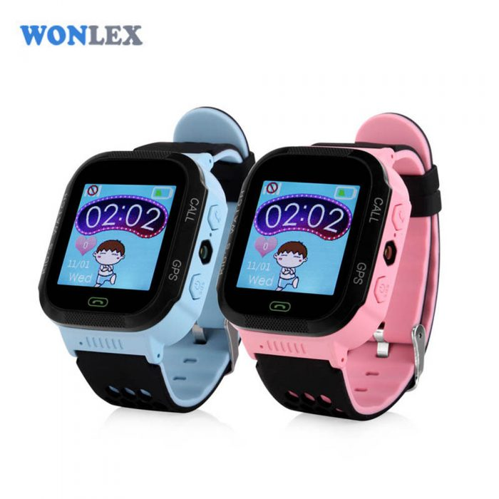 Часы для детей с GPS Wonlex GW500S smart watch