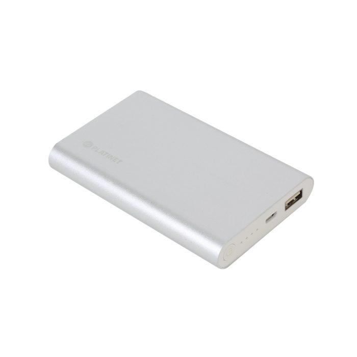 Platinet Power Bank 10000 mAh polymer PMPB10AB argintiu