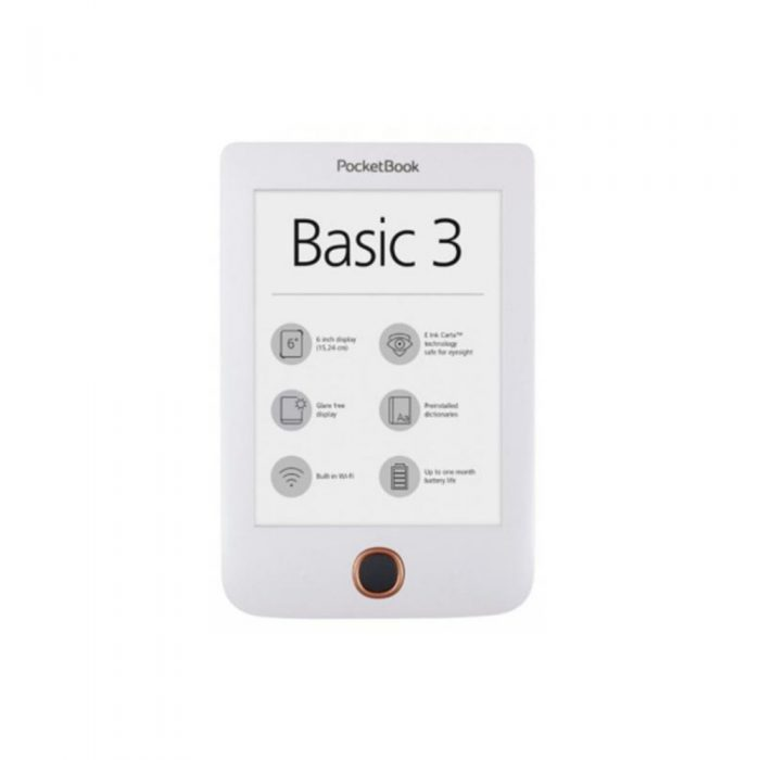 PocketBook Basic 3, 614 белый