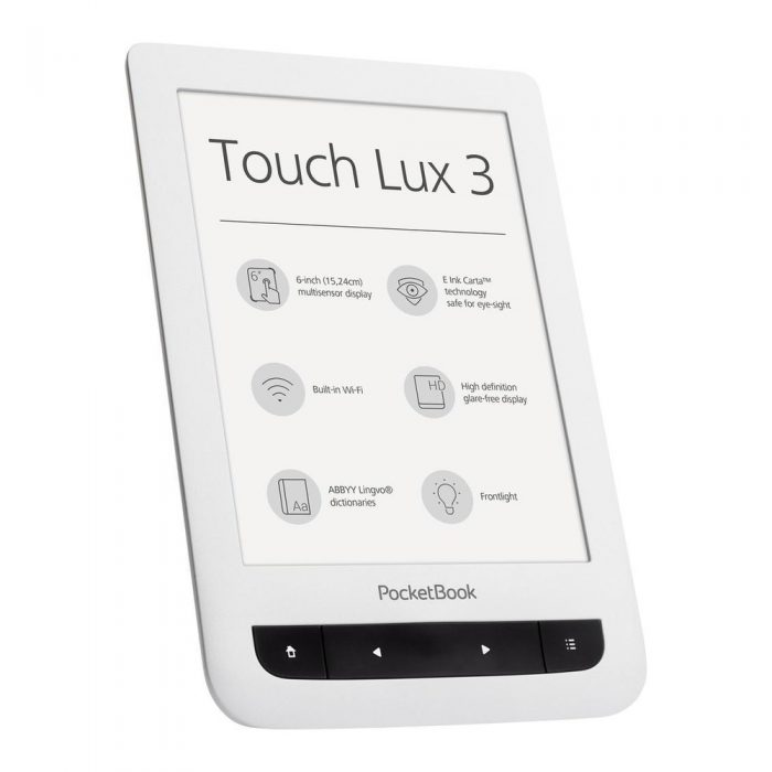 PocketBook Touch Lux 3 alb