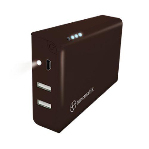 Power Bank Tuncmatik Mini Charge 12000 мАч