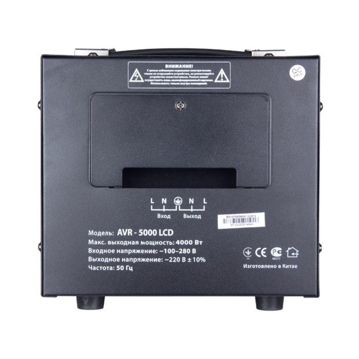 Регулятор напряжения SVEN AVR-5000 LCD