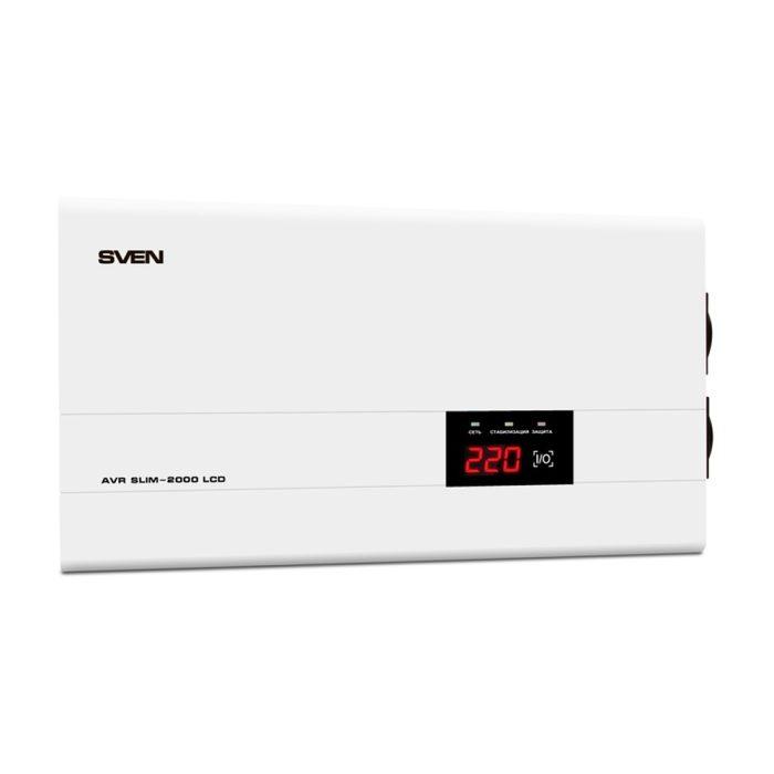 Stabilizator de tensiune SVEN AVR SLIM-LCD 2000