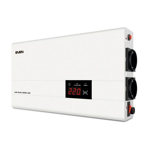 Стабилизатор напряжения SVEN AVR SLIM-LCD 2000